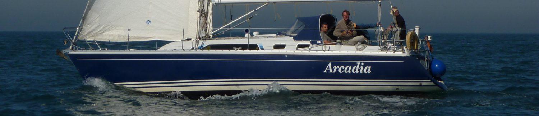 Sailing Arcadia