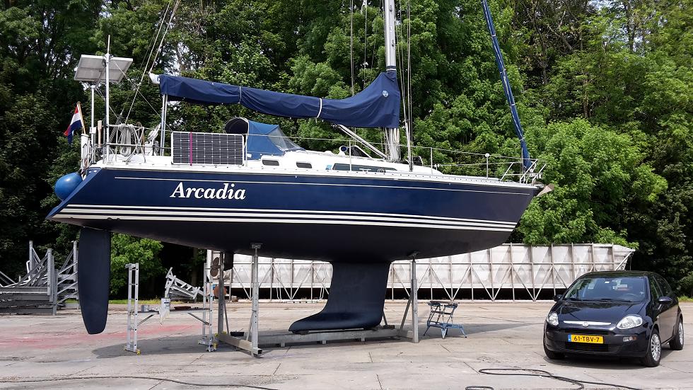 Arcadia op de kant